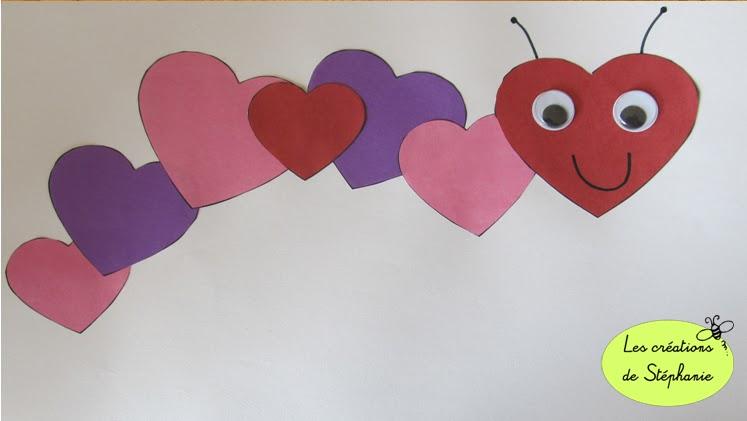Les cr ations de st phanie bricolage pour le pr scolaire en lien avec la sai - Pinterest bricolage st valentin ...