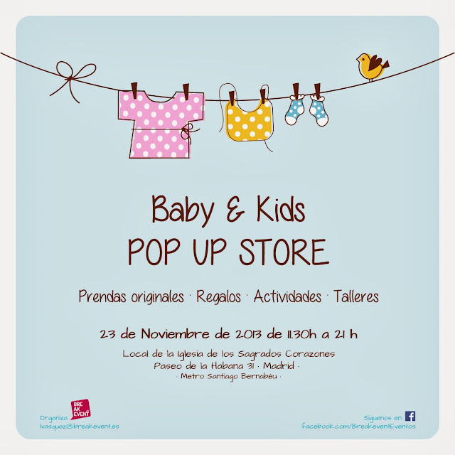Pop Up Store Baby&Kids Mon Petit Market