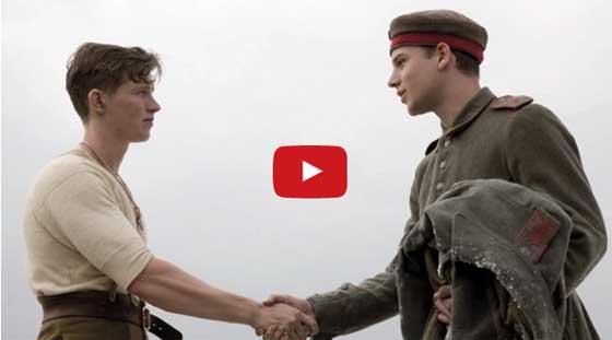 German British Soldiers Christmas 1914