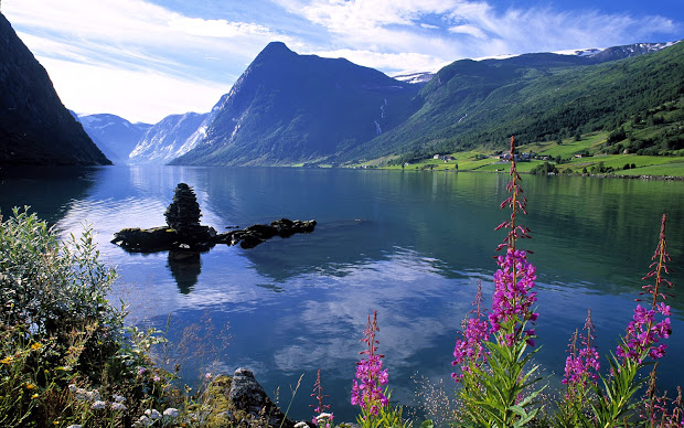 beautiful landscapes of