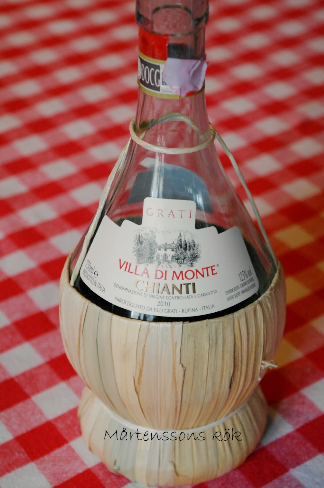 M rtenssons k k en kv ll med italienska smaker for Dekoration italien