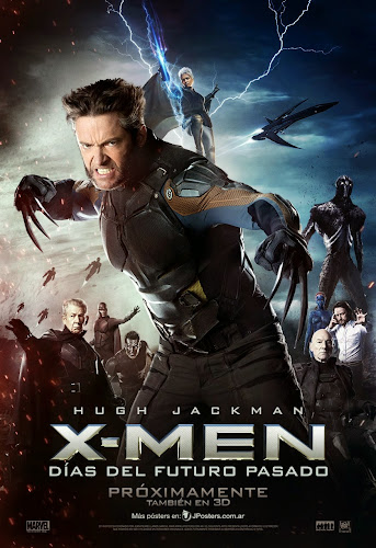 X-Men Days of Future Past (BRRip 3D FULL HD Dual Latino / Inglés) (2014)