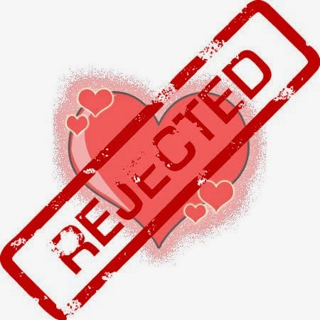 penolakan cinta, cinta ditolak