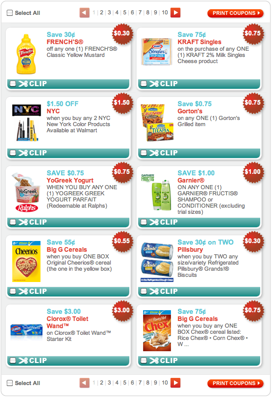 Coupon print out websites