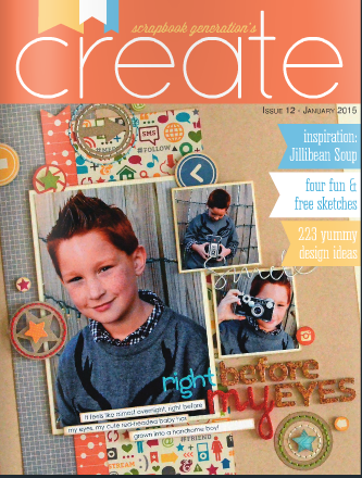 Create Magazine January 2015 Issue