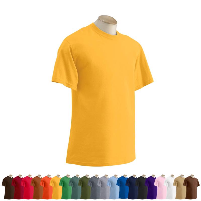 Latest barbie fashion plain yellow t shirt for Plain t shirt brands