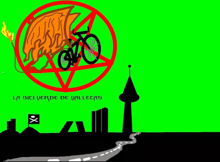 la bici verde claro