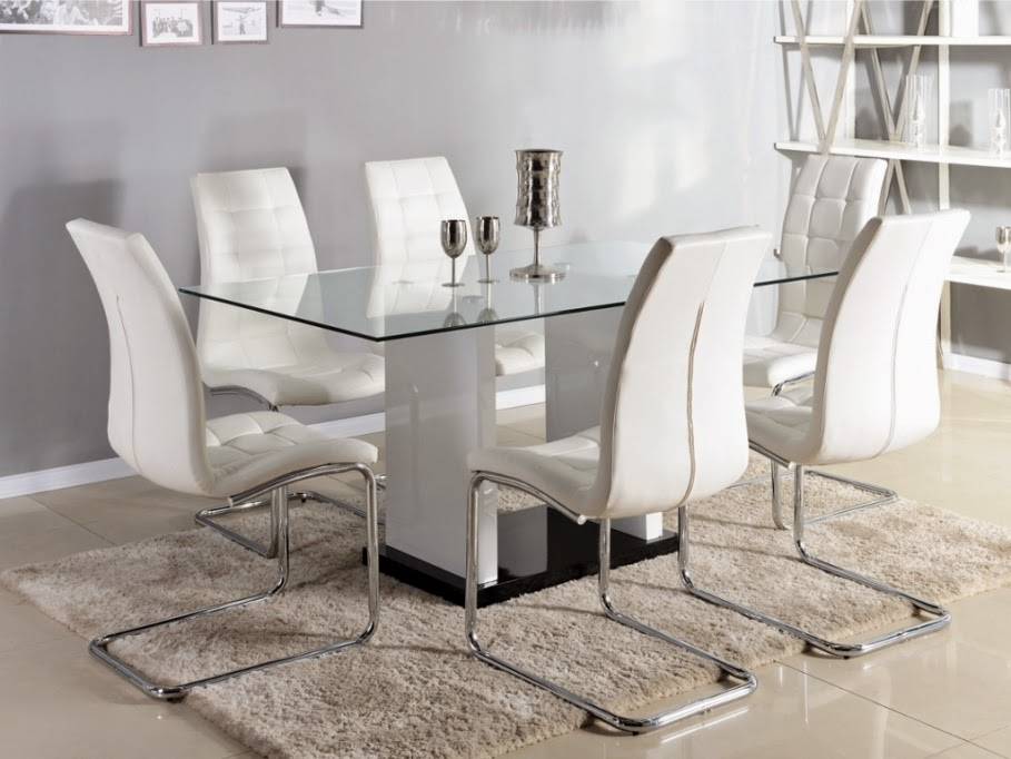 Muebles modernos mesas de comedor parte 2 for Mesas para muebles modernas