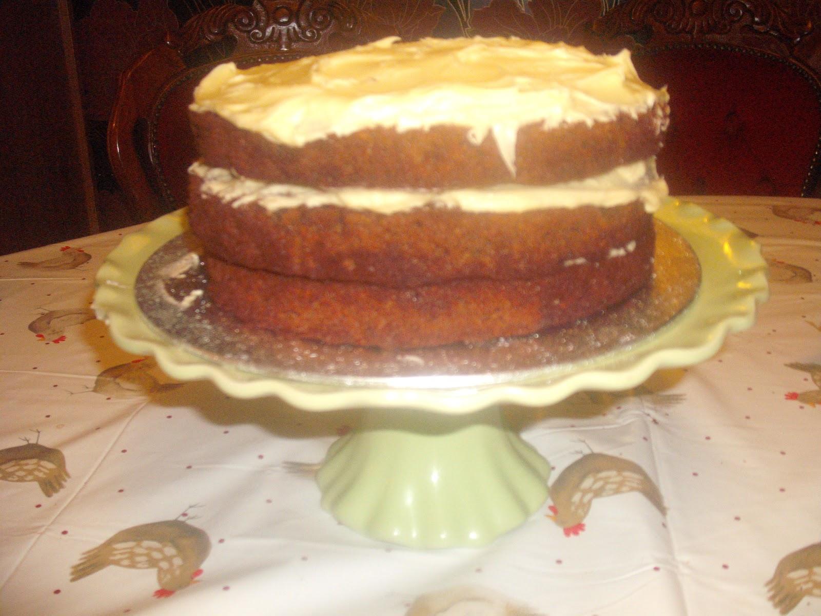 Ginger pecan and coconut cake.   Charlene Flash