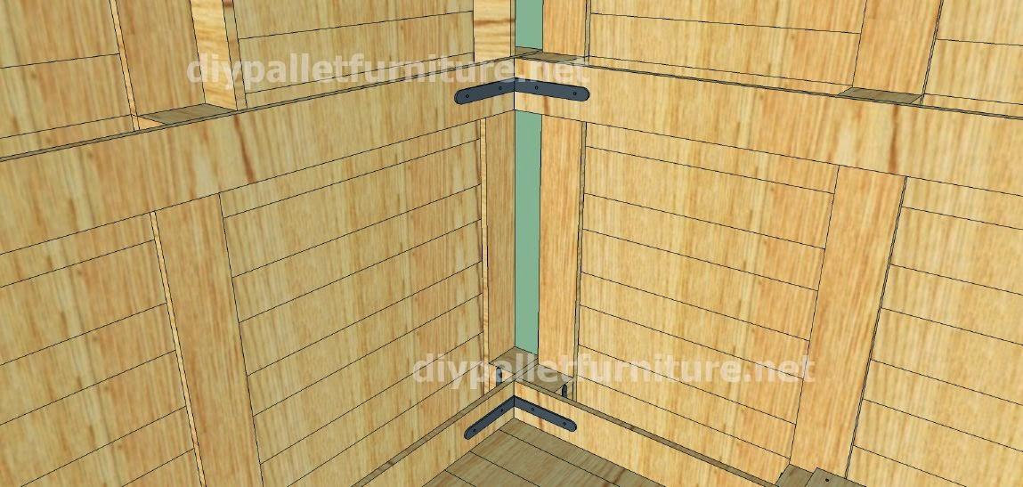 Planos y video para hacer una casa for Como hacer una puerta con tarimas