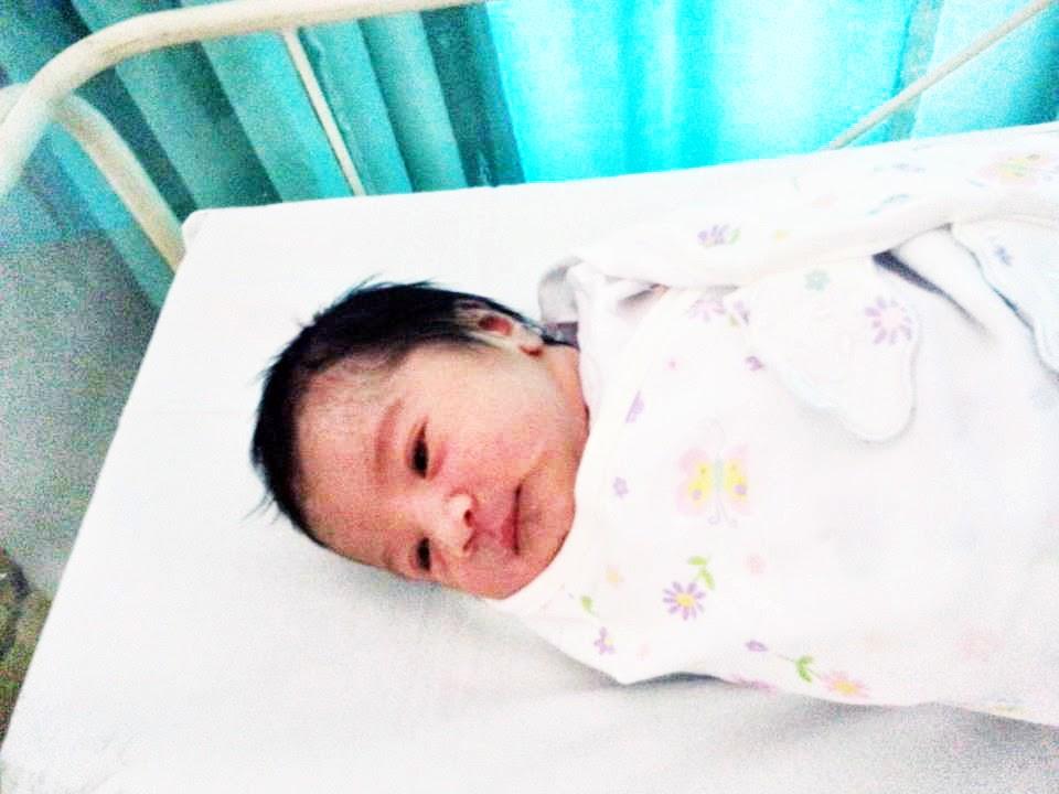 selepas 10 jam kelahiran :)