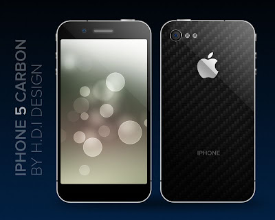 iPhone 5 carbon concept