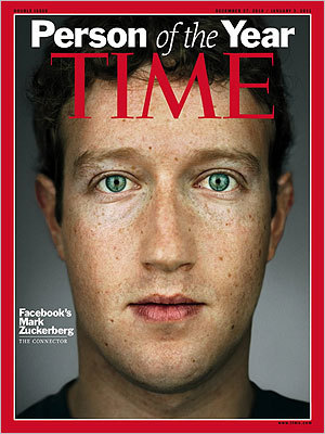 TIME Tags Facebook's Mark Zuckerberg as Person of the Year | Jenny's Noodle