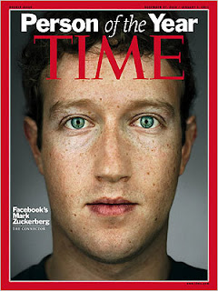 TIME Person of the Year 2010, Mark Zuckerberg, Facebook