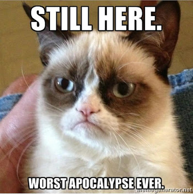 Worst apocalypse ever cat. [photosource: memegenerator.net]