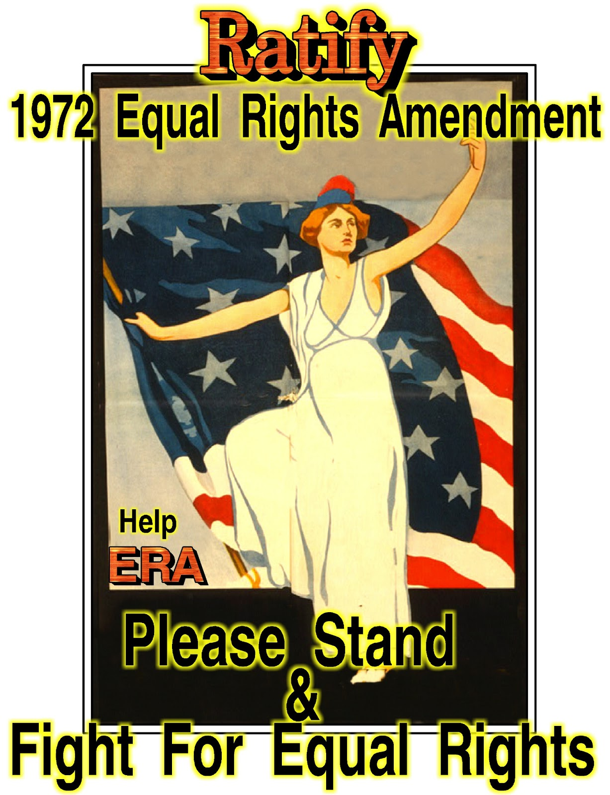 equal rights The equal rights amendment passed the us senate and then the house of representatives, and on march 22, 1972, the proposed 27th amendment to the constitution was sent to the states for ratification.