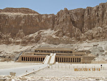 Temple of Queen Hatshepsut, Deir el-Bahri, West Bank of Luxor, Egypt