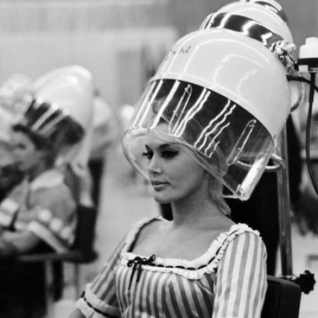 Vintage photos of hair dryers vintage everyday for 1950 s beauty salon
