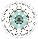 Top 3 winner at crafts 4 eternity