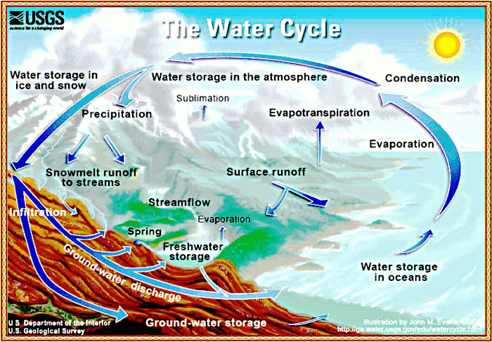 Grade 8 Week 11 Water Cycle on Evaporation And Condensation Worksheets