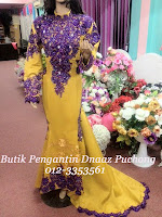Dress Sanding Gold Purple