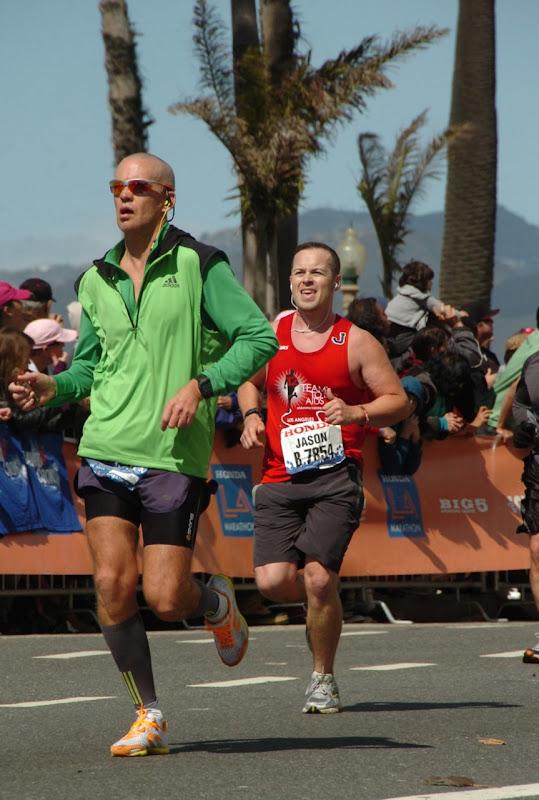 Ocean Avenue LA Marathon 2012