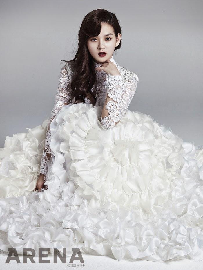 Kim Yoon Hye - Arena Homme Plus January 2014