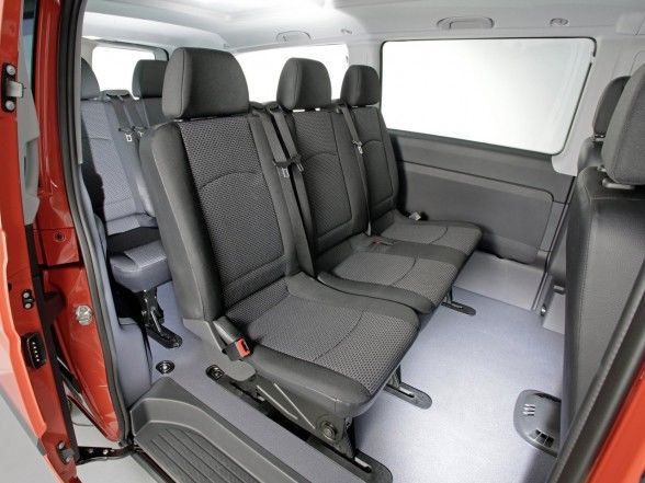 2011 mercedes benz vito more economical and environment for Interior mercedes vito