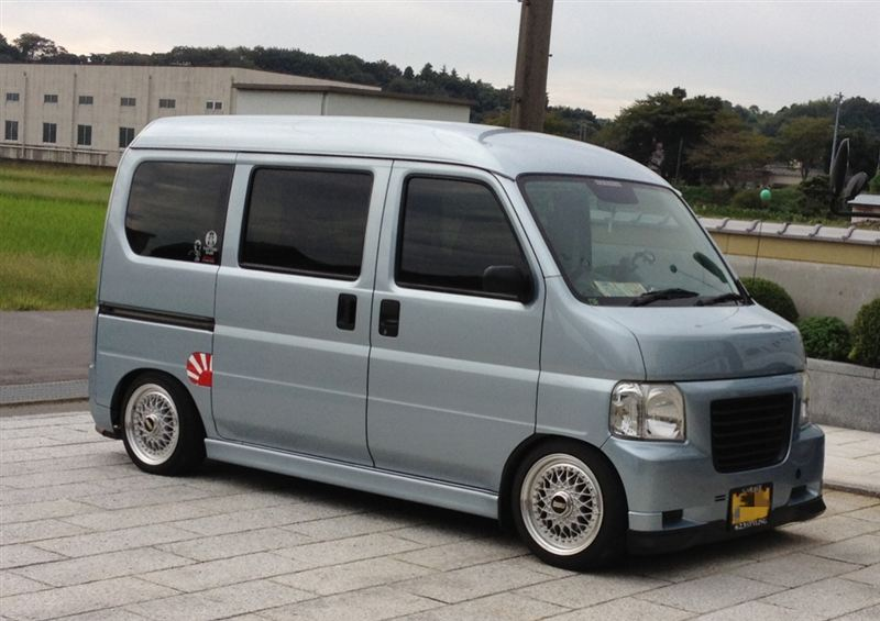 Honda Vamos, kei car, mały van, japoński, jdm, fotki