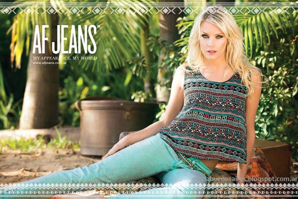 Moda verano 2014 AF Jeans 2014