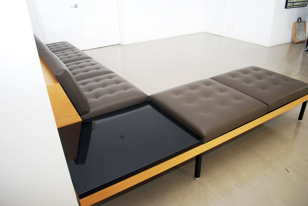 Custom Armless Sectional Sofa : sectional sofa with corner table - Sectionals, Sofas & Couches