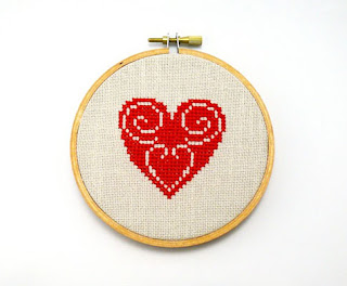 cross stitch home decor