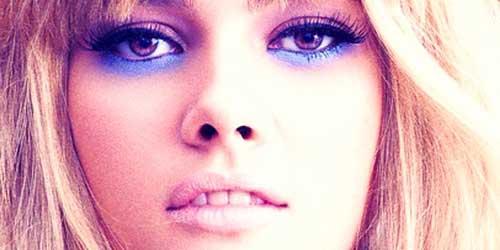 sombras de ojos azules