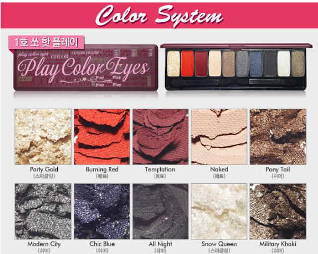 Etude House Play Color Eyes eyeshadow palette 1