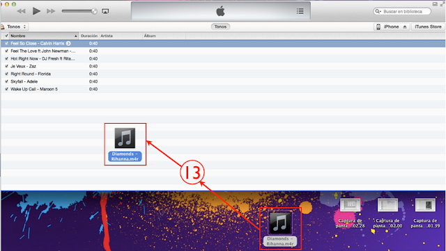Cómo hacer para colocar una canción de tono en el iPhone 9
