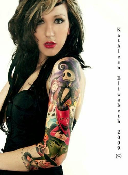 Christmas Tattoo Ideas Nightmare Before Christmas