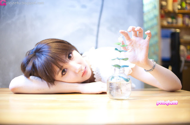 1 Yeon Da Bin - Outdoor-Very cute asian girl - girlcute4u.blogspot.com