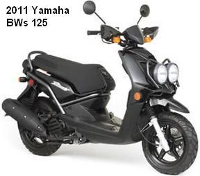 2011 Yamaha BWs 125