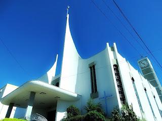 Igreja Matriz de São Marcos. Igreja construída em estilo moderno.