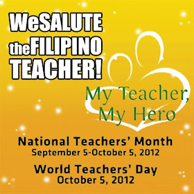 National Teacher's month 2012