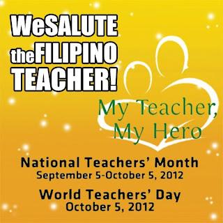 National Teacher's month 2012