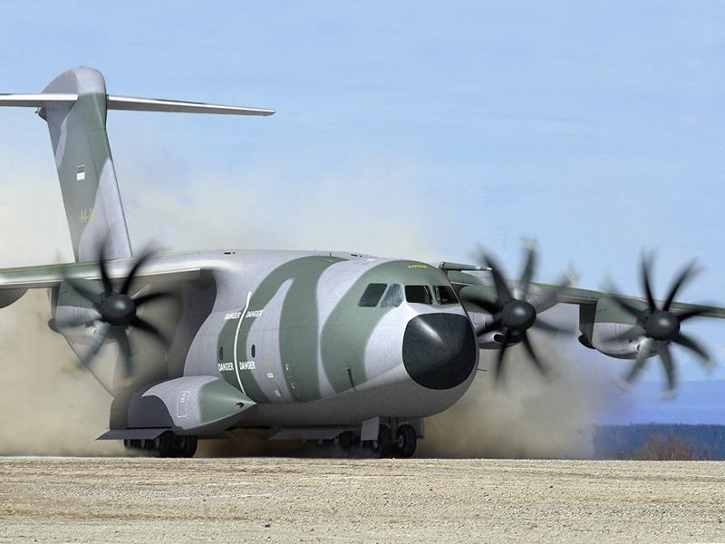 Airbus A400M Tactical Transport Aircraf