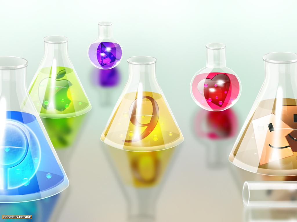 template backgrounds: chemistry backgrounds, Modern powerpoint