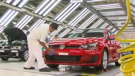 Pabrik Terbesar VW di Meksiko Mulai Produksi Golf 7