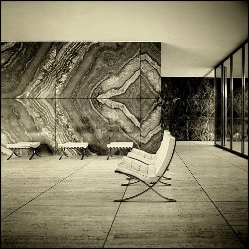 ozondah design the barcelona pavilion by mies van der rohe. Black Bedroom Furniture Sets. Home Design Ideas
