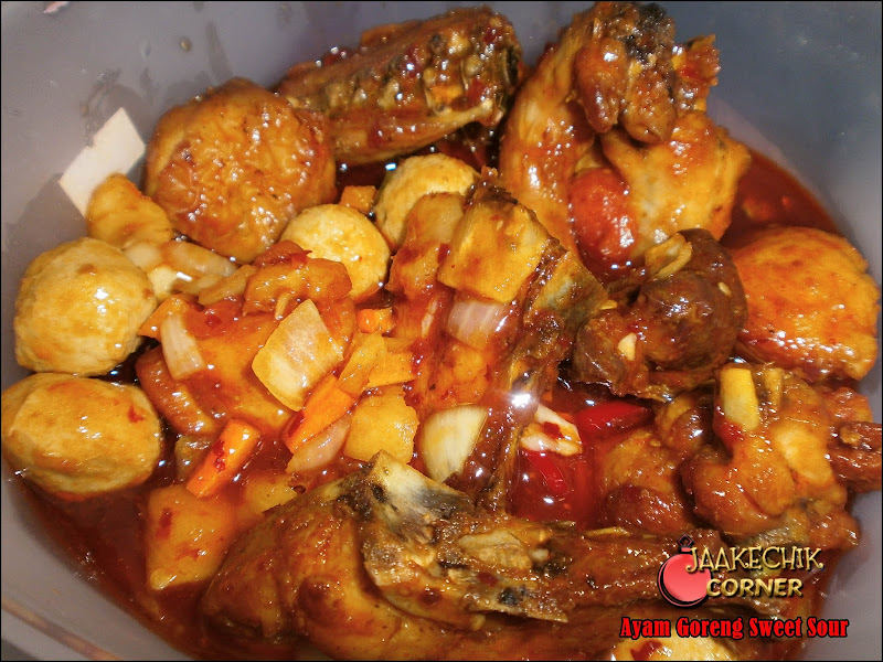 ayam sweet sour, ikan sweet sour, resepi sweet sour, cara buat ayam masam manis, ayam tiga rasa, ayam 3 rasa, cara buat ayam sweet sour, ayam halia, ayam percik sedap, ayam baru kfc,