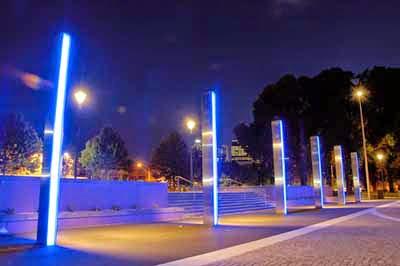 unique design of led street light makes blueboo unique