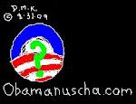 CLICK LOGO FOR www.obamanuscha.com