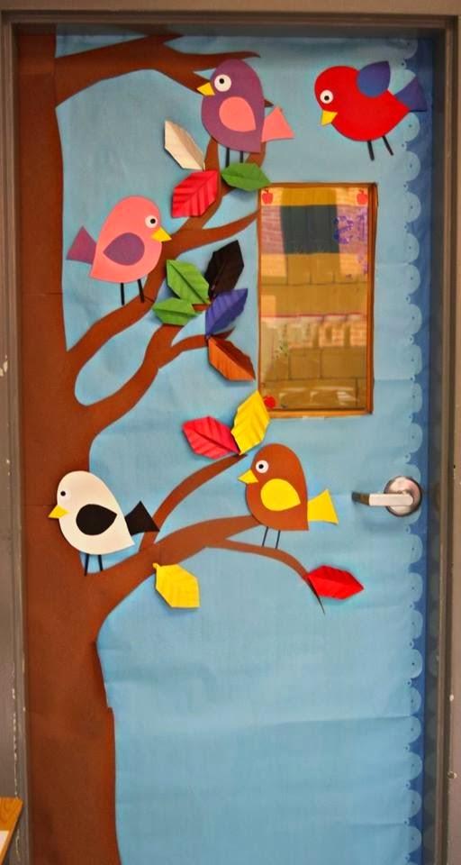 decorar sala de kinder : decorar sala de kinder:Spring Classroom Door Decorations