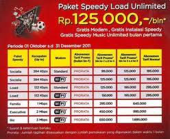 tarif paket internet speedy terbaru 2012. Black Bedroom Furniture Sets. Home Design Ideas